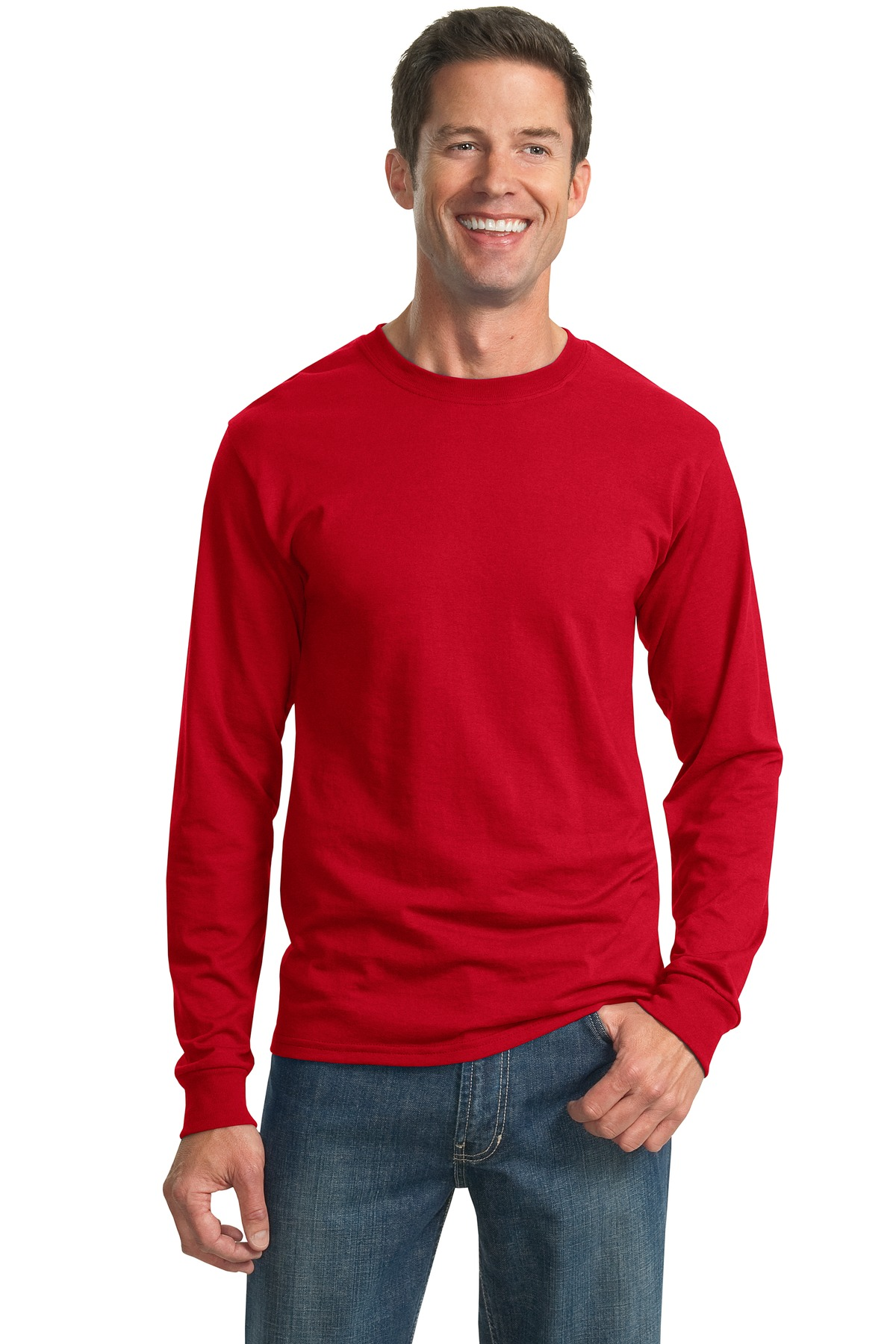 Jerzees Dri Power Active Cotton Poly Long Sleeve Dry Fit T
