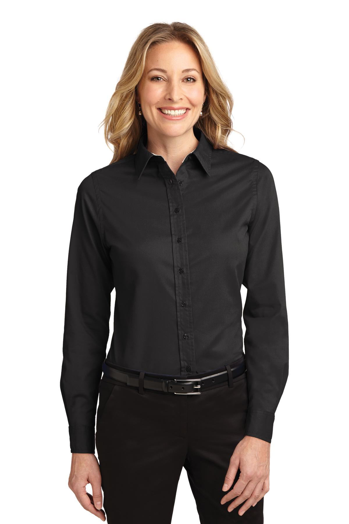 Overstock uses cookies to ensure you get the best experience on our site. If you continue on our site, you consent to the use of such cookies. Learn more. OK Tops. Clothing & Shoes / Women White Blouse Shirt Women Button Down Long Sleeve Office Tops. 1 Review. SALE. More Options.